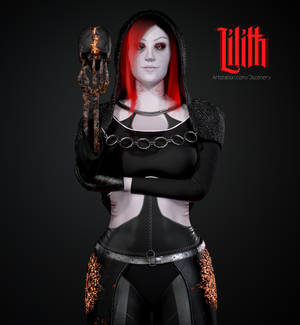 Lilith - Realtime 3D model.
