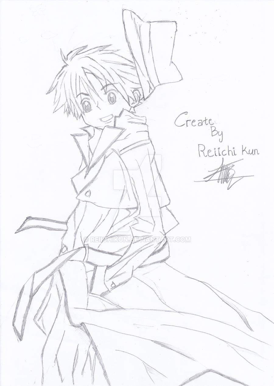 Paling Baru Sketsa Keren Anime The Toosh