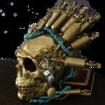 2009 GoldTattooSkull