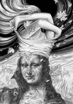 2015 Cadavre Exquis avec   Bernard Dumaine