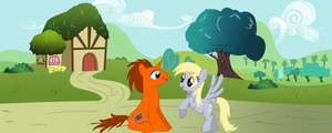 Apple Shield And Derpy