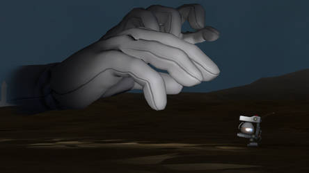 (old) The Desolate Hands by said7895