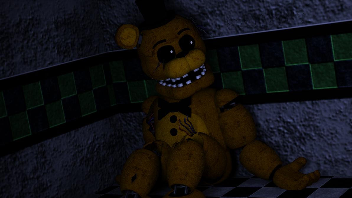 Human au golden freddy meet the humanimatronics by said7895 on