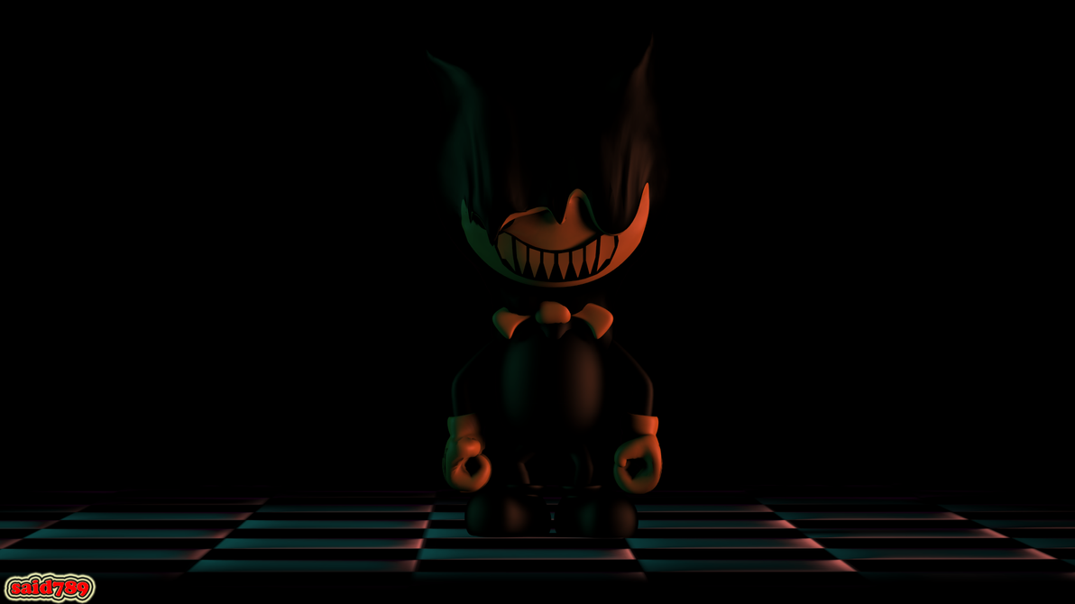 Spoopy Bendy by said7895