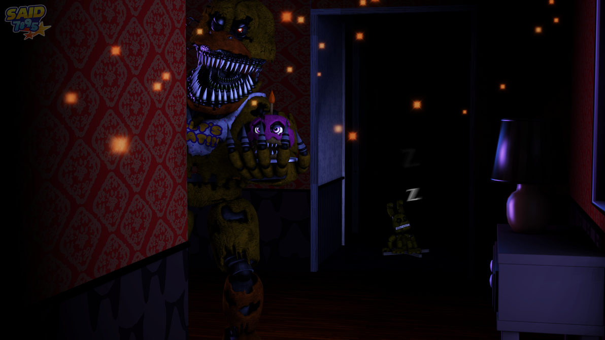 [SFM FNAF4] Nootmare Chica by said7895