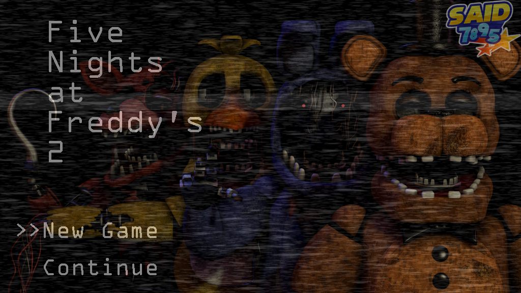 Fnaf 2 menu by said7895