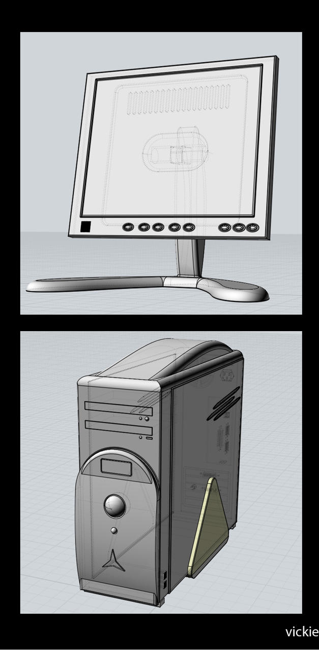 PC - modelisation by Darkvickie