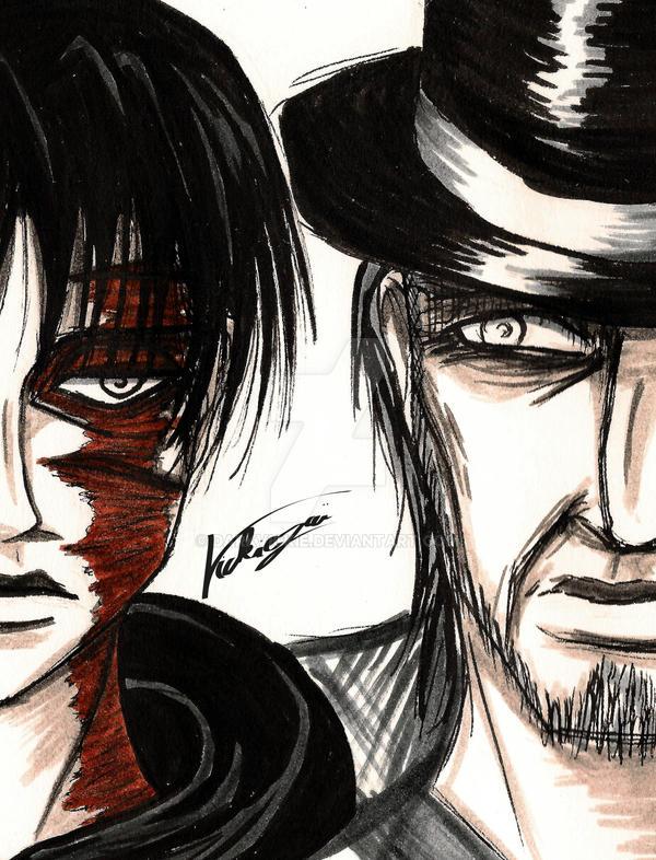 Levi vs Kenny by Darkvickie