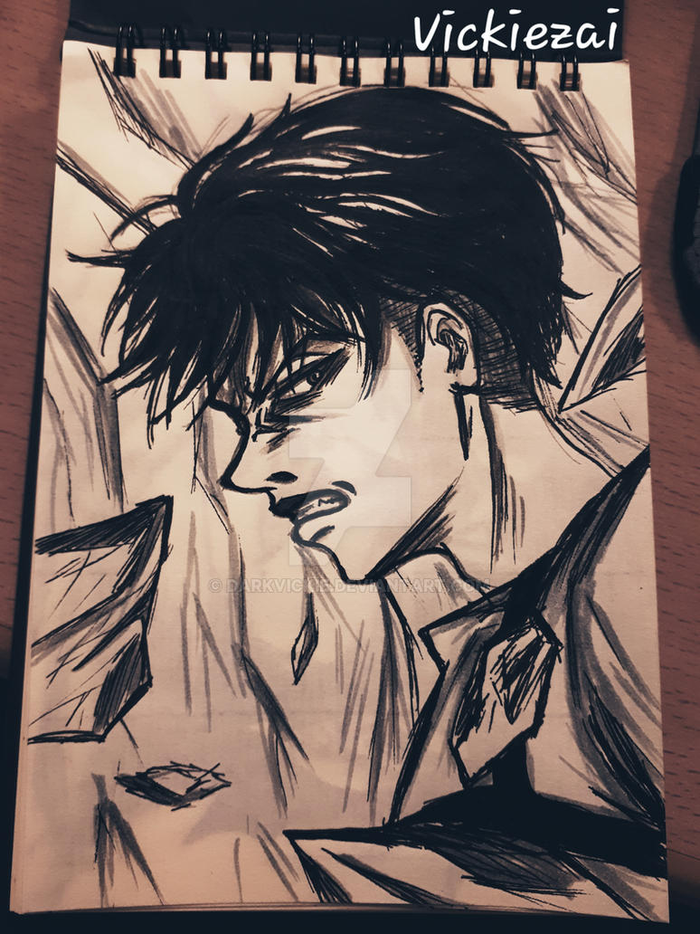 Ink Levi S3 by Darkvickie