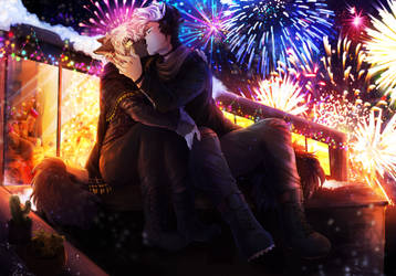 The Fireworks In Our Hearts by Ronkeyroo