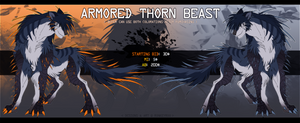 ARMORED THORN BEAST - closed