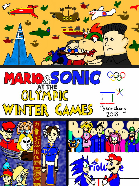 mario & sonic at the rio 2018 olympic games