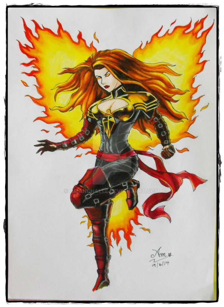 Phoenix - Phoenix Five Uniform by AmAnchalee