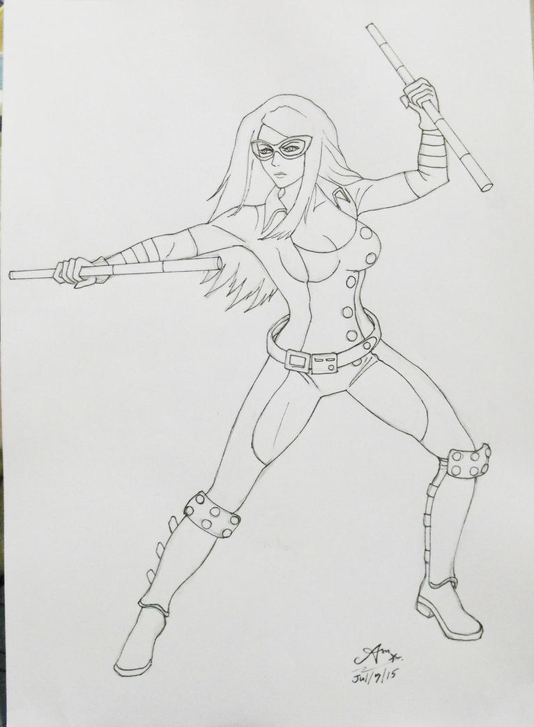 Mockingbird - Sketch by AmAnchalee