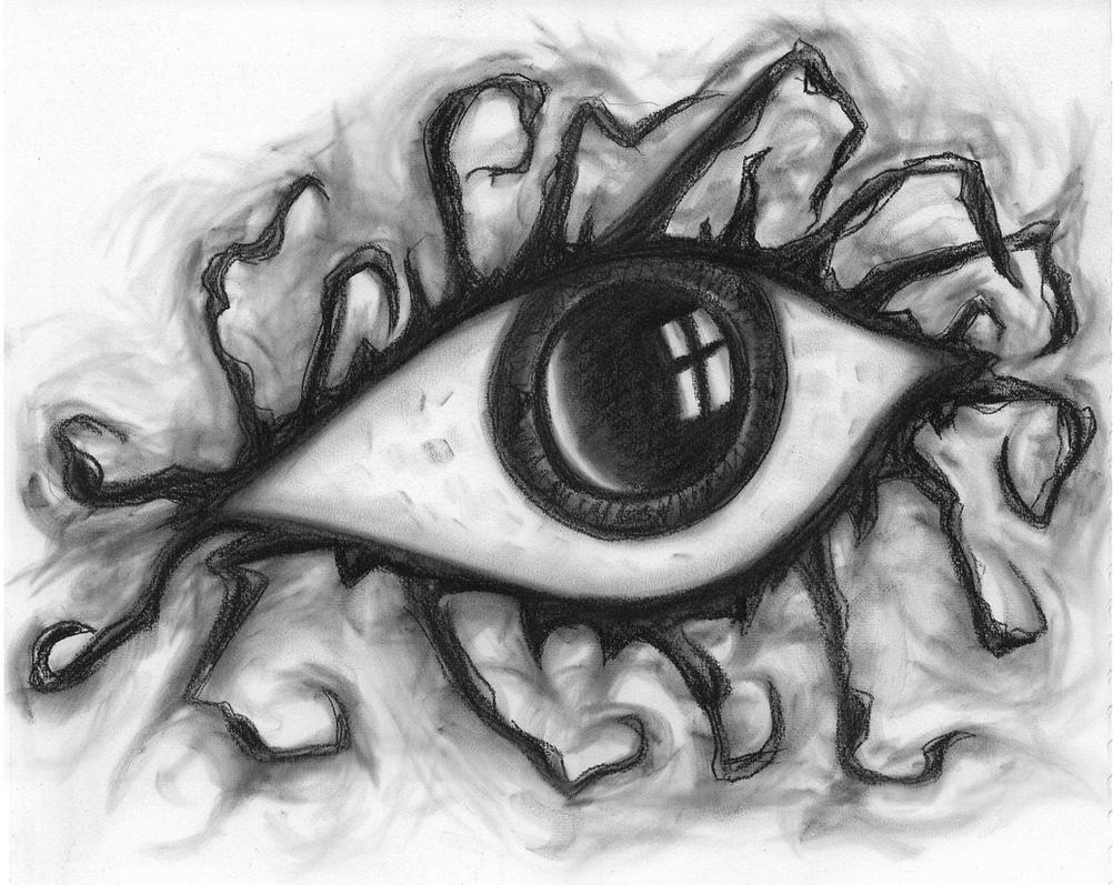 Scared Eye By Rising-horus On DeviantArt