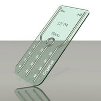 Transparent Cell Phone by WALLEBob