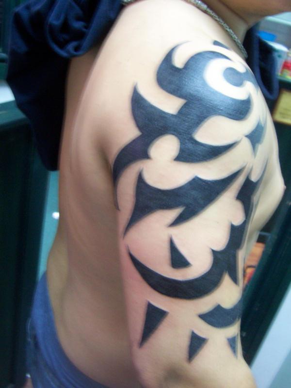 Tribal Tattoo Sleeves