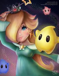 Super Mario Series: Rosalina by MPL-Art
