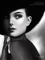 Photo Study of Natalie Portman by MPL-Art