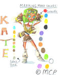 OC-C Kate The Elf- Ref. Sheet by mcp100