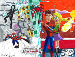 The Amazing Spider-man 2 by mcp100