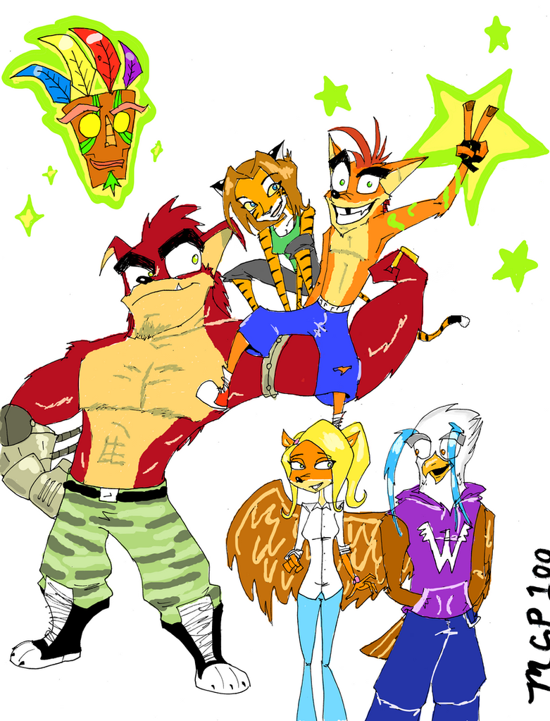 Crash Bandicoot: Always and FurEver by mcp100
