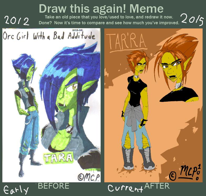 Tar'ra Gets Drawn Again by mcp100