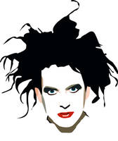 Robert Smith Vector by Hanajo