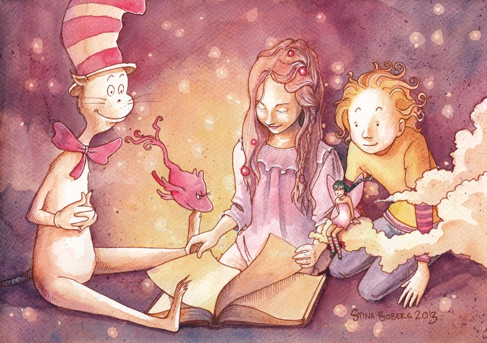 Reading company by Bluesette