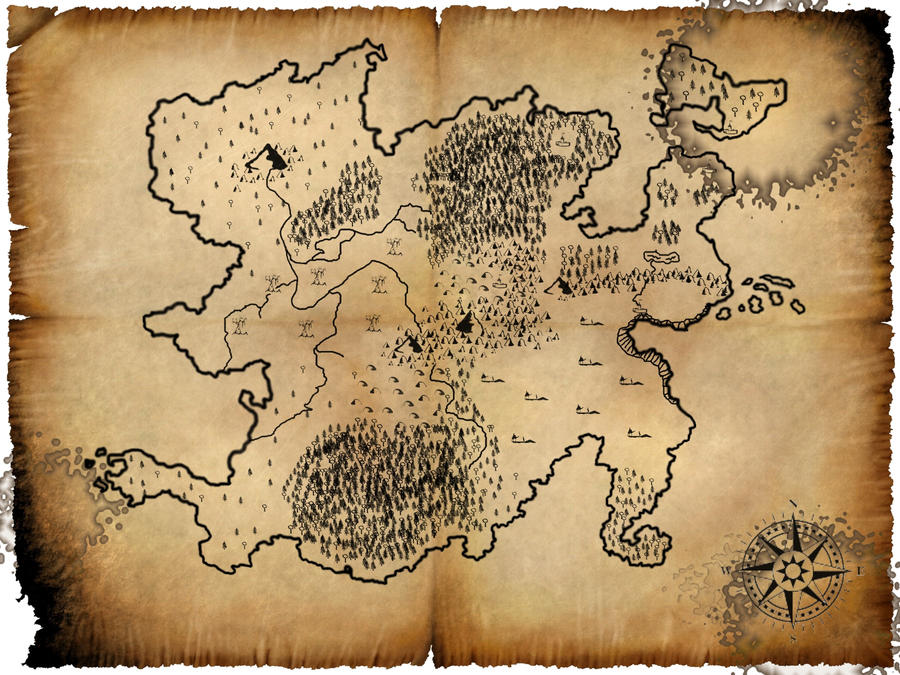 World Map For New Pathfinder Campaign By Kev Bot ...