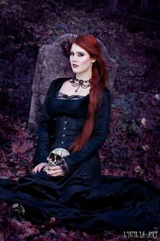 autumn cemetery II by Lycilia