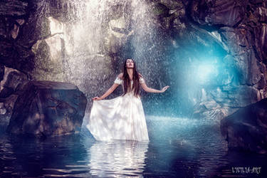 magical lake by Lycilia