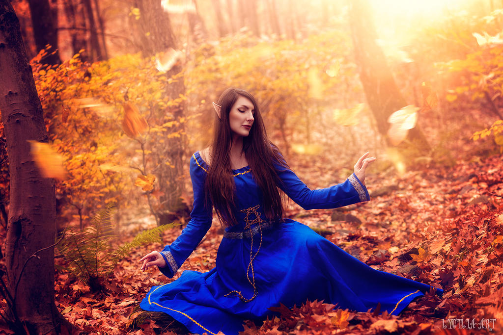 Magical forest by Lycilia