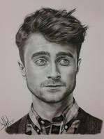 Daniel Radcliffe by nandoartcastle