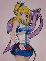 Lucy by nandoartcastle