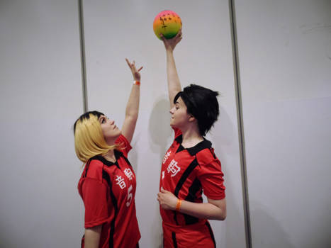 [Haikyuu!] KuroKen can't touch this