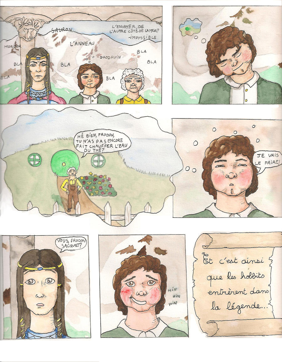 Frodo's comics by Feawing