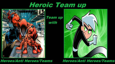 Heroic Team up of Spiderman And Danny Phantom by ThomyTmnt