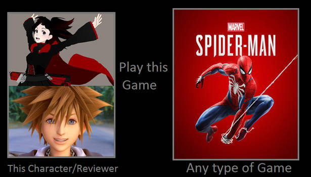 Ruby and Sora play Spider-Man (PS4)