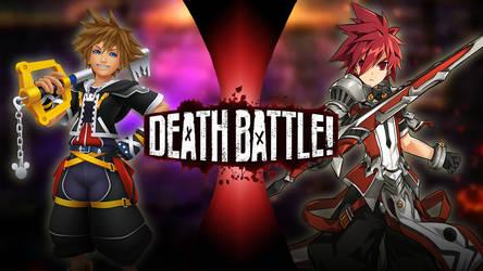 DEATH BATTLE 2.0: Sora vs Elsword (Remake)