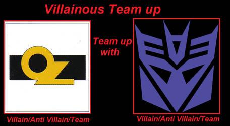 Villainous team up of OZ and Decepticons