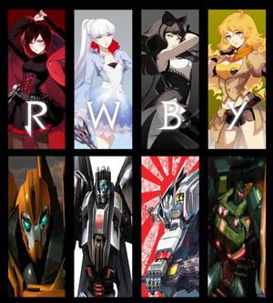 RWBY RID: Team RWBY Partners