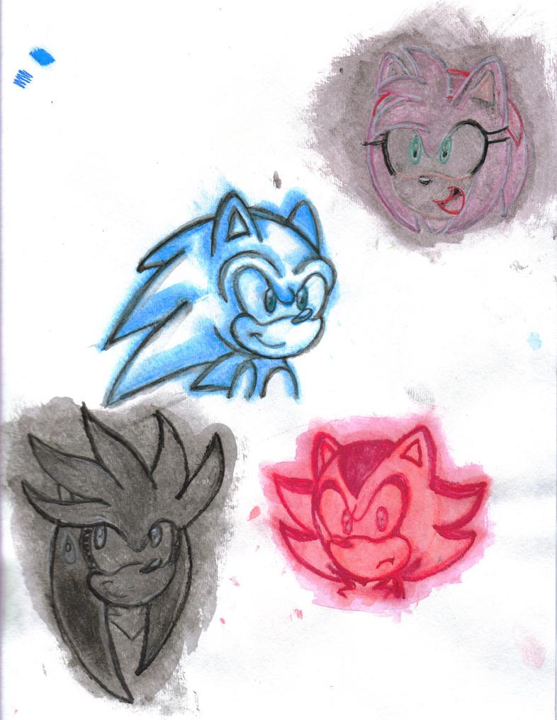 Watercolour Sketches by IamNotcrazyYouare