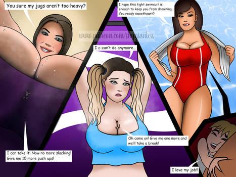 Giantess boobs