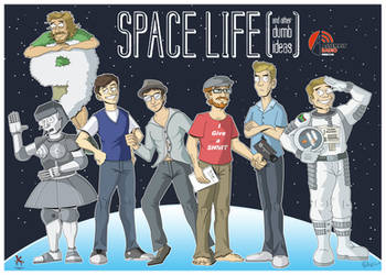 Space Life and other dumb ideas crew. by Kaos2007