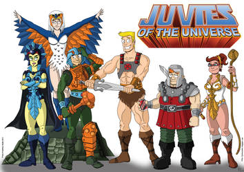 Juvies of the Universe by Kaos2007