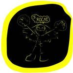 Terra black and yellow