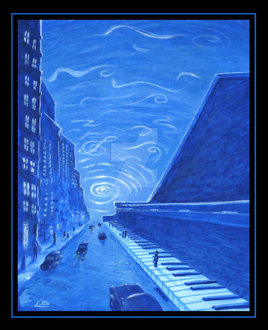 rhapsody in blue by larrybriner on deviantart. Black Bedroom Furniture Sets. Home Design Ideas