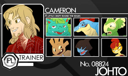 IPL - Cameron's Trainer Card by ph00