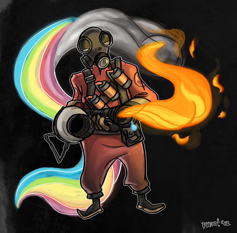 TF2: Pyro Bliss by ph00